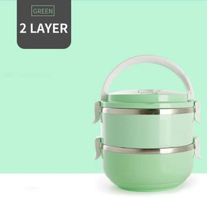 Stainless Steel Stackable Lunchbox - PeekWise