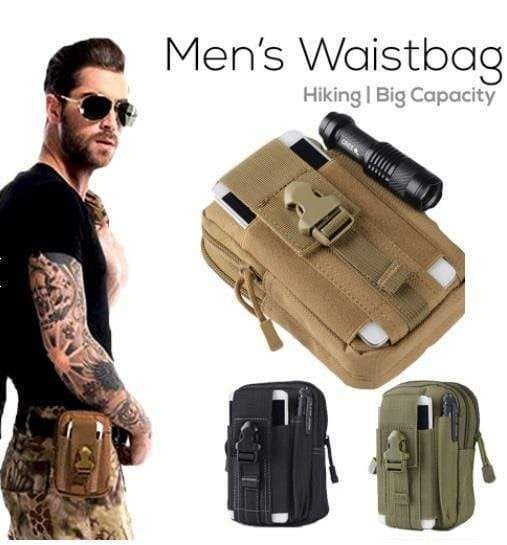 Multi-Purpose Molle Tactical Waist Pouch - PeekWise