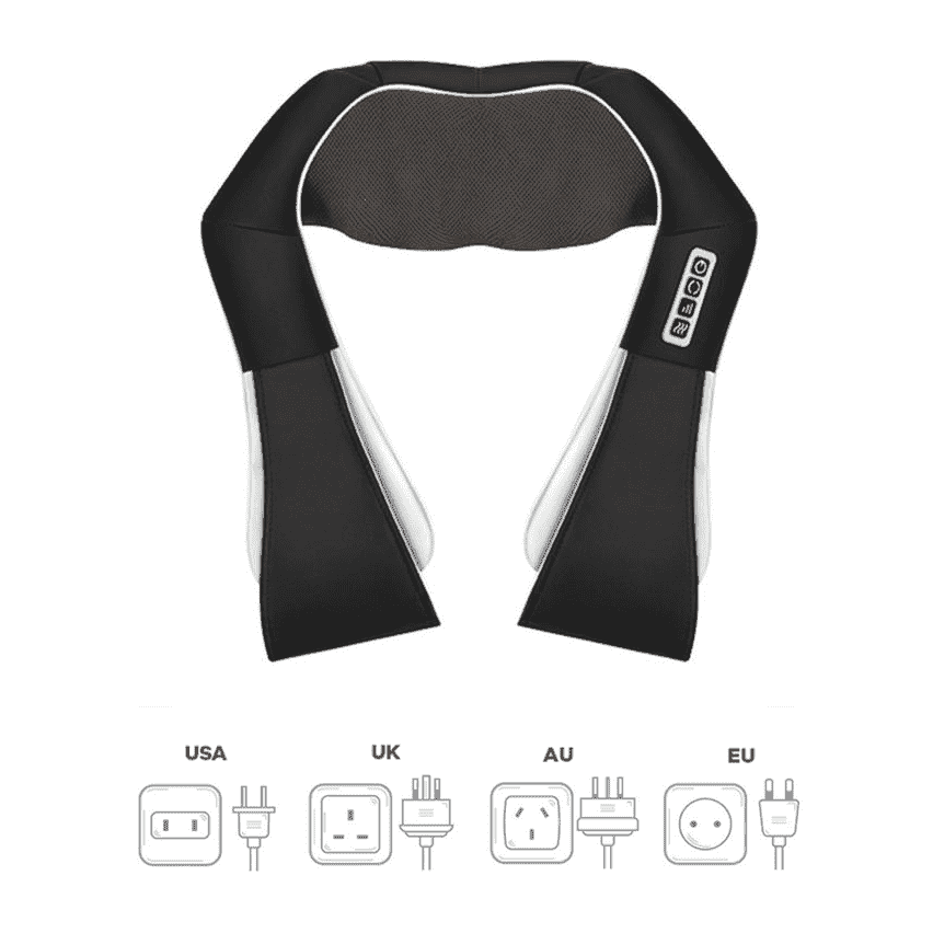 Heated Back & Neck Massager - PeekWise