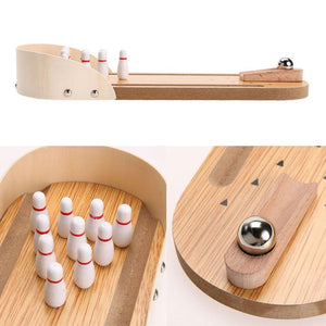 Mini Desktop Bowling Game - PeekWise