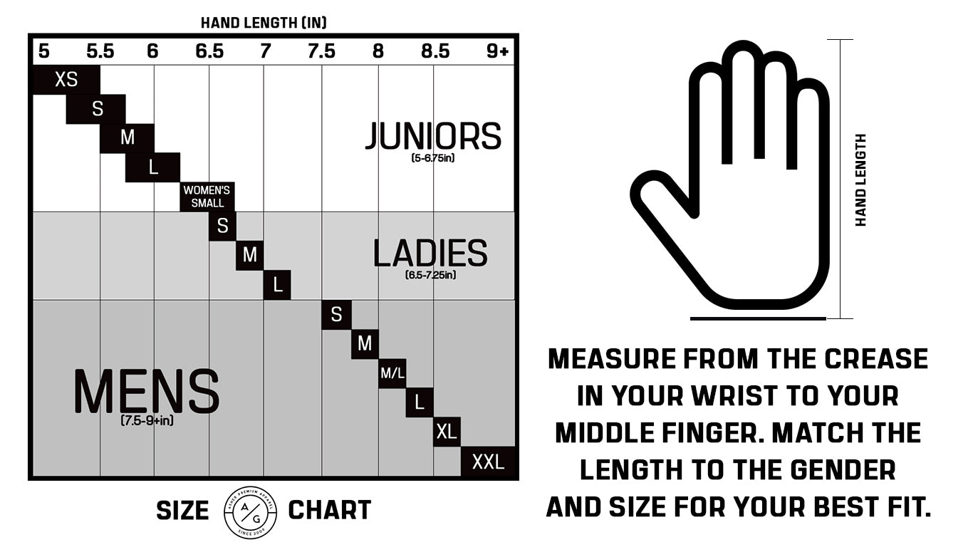 Asher Size Chart Best Fit Possible Asher Golf