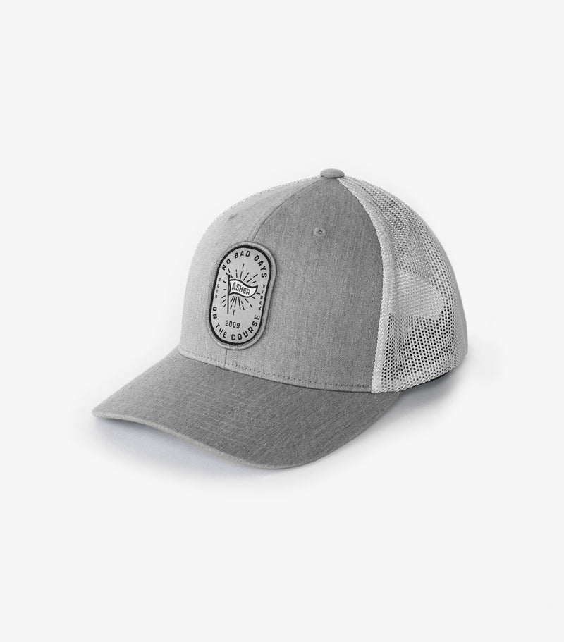 No Bad Days Trucker- Grey