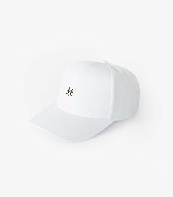 Performance Dad Cap - White