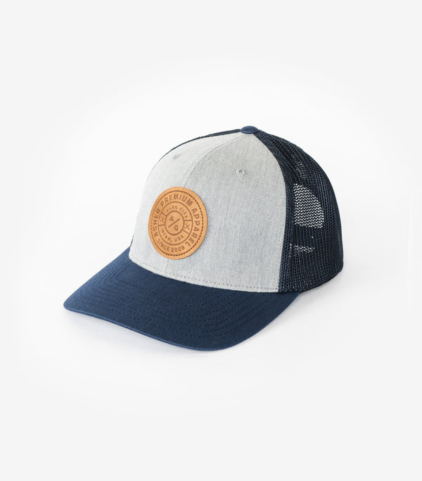 Lodge Trucker - Navy/Grey
