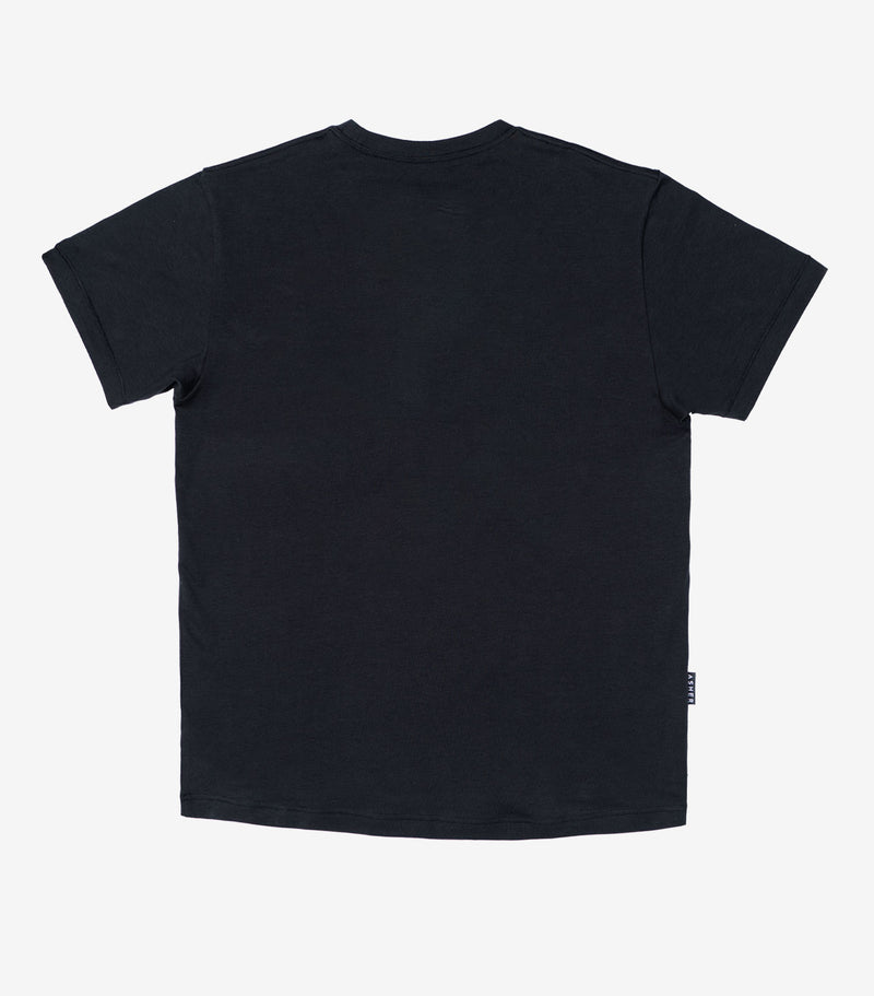 Asher Flag T-Shirt - Black