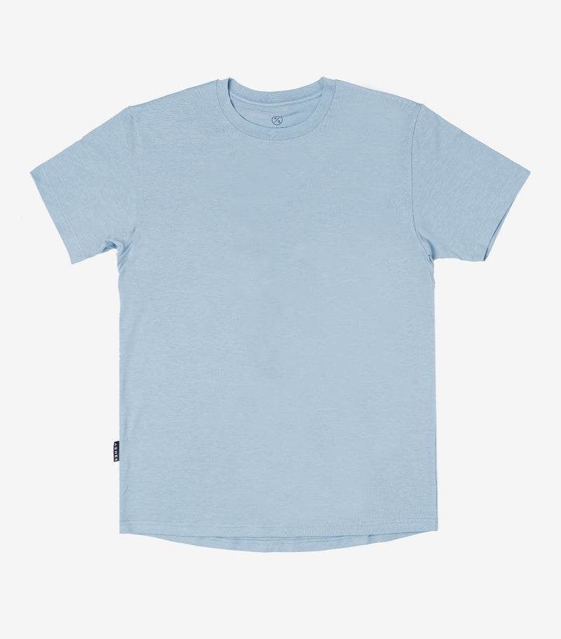 Blank ASHER T-Shirt - Stone Blue