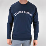 Navy Chasing Birdies Sweater