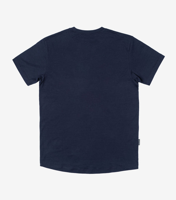 ASHER Flag T-Shirt - Navy