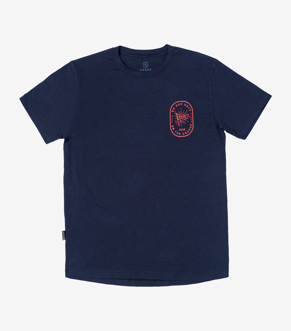No Bad Days T-Shirt - Navy