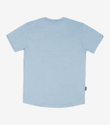 Quiet Please T-Shirt - Stone Blue