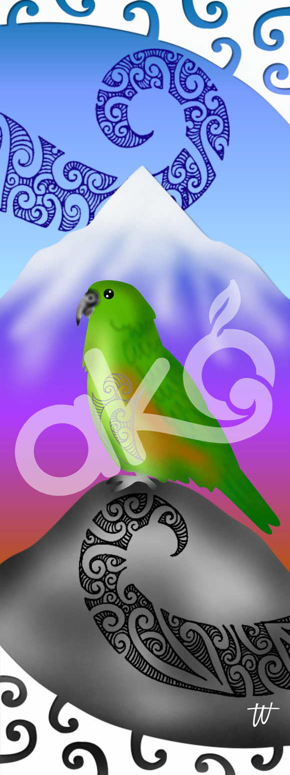 Wall Panel - Kea (Mountain Parrot)