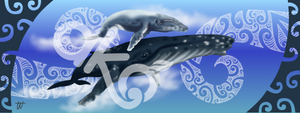Wall Panel - Tohorā (Whale)