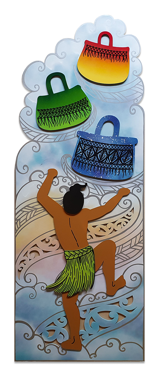 Tāwhaki and the baskets of Knowledge