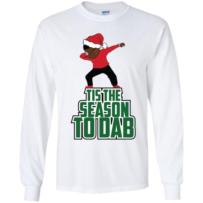 White Dabbing Sweater