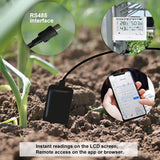 Soil Temperature and Moisture Sensor