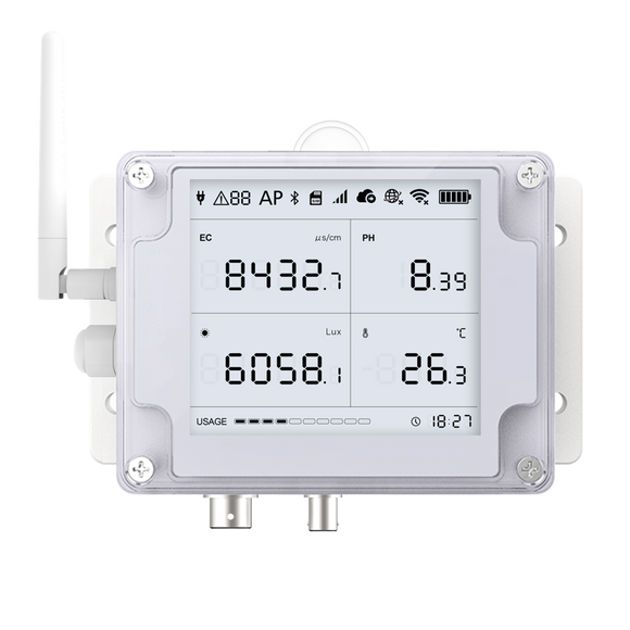 Ubibot GS2 EC PH Monitor--2.4GHz WiFi