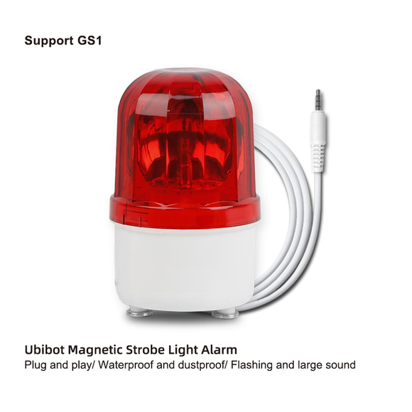 Ubibot Strobe Light and Siren Alarm