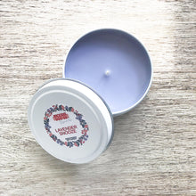 Load image into Gallery viewer, Lavender Snooze Soy Candle | Small Tin