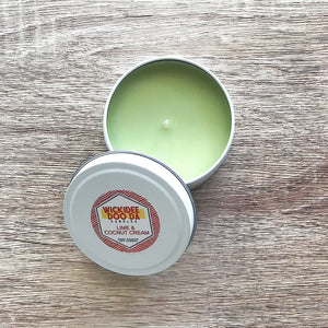 Lime & Coconut Cream Soy Candle | Small Tin