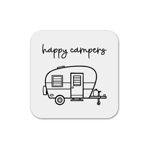 Happy Campers Magnet