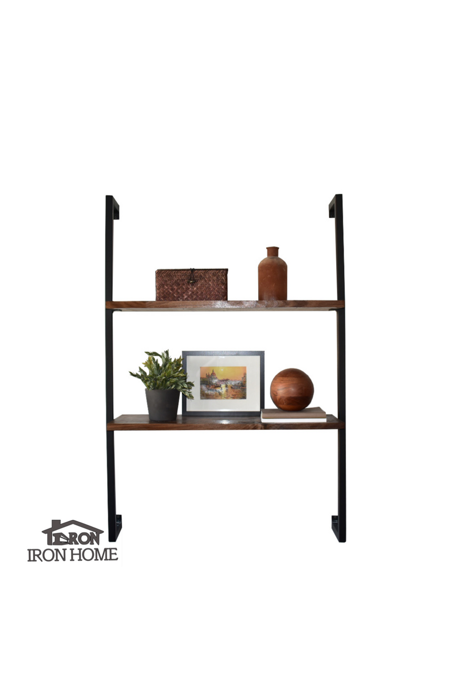 "Minimalist Side Framed Brackets- 16"" Spacing"