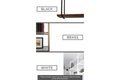 Minimalist Ceiling Mounted Shelf Brackets