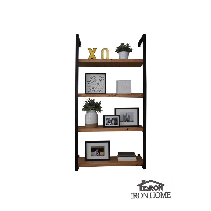 "Framed Iron Shelf Brackets- 12"" Spacing"