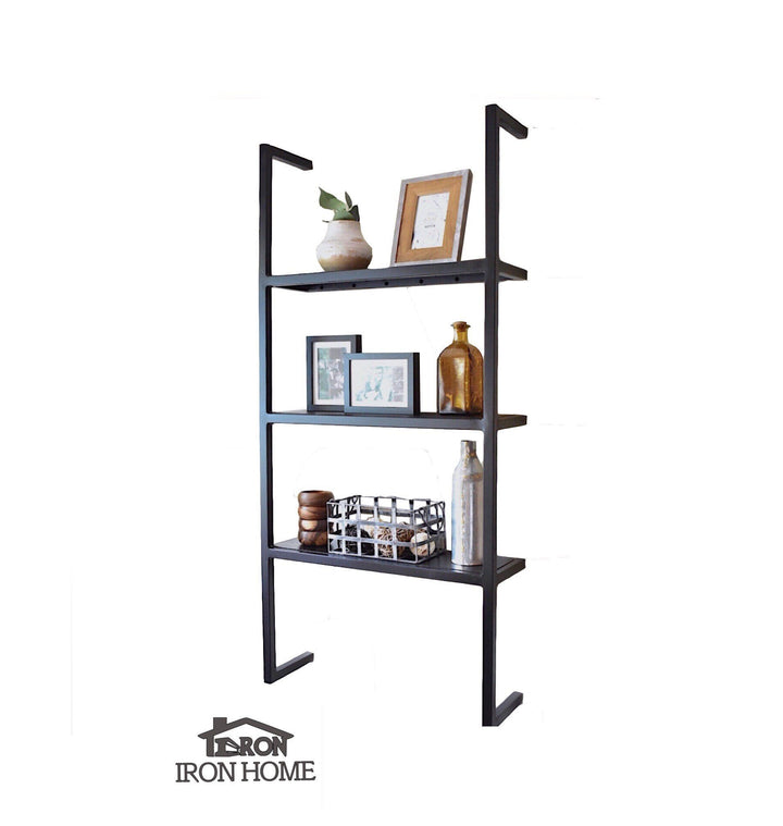 Iron Floating 3 Shelf Unit