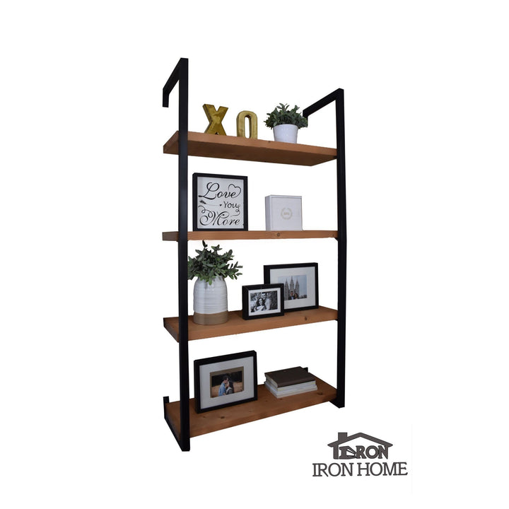 "Framed Iron Shelf Brackets- 16"" Spacing"