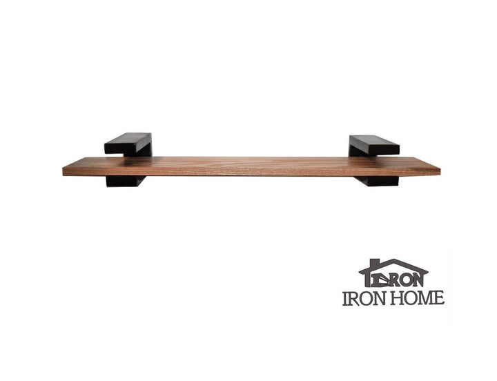 Iron Floating Shelf C Brackets