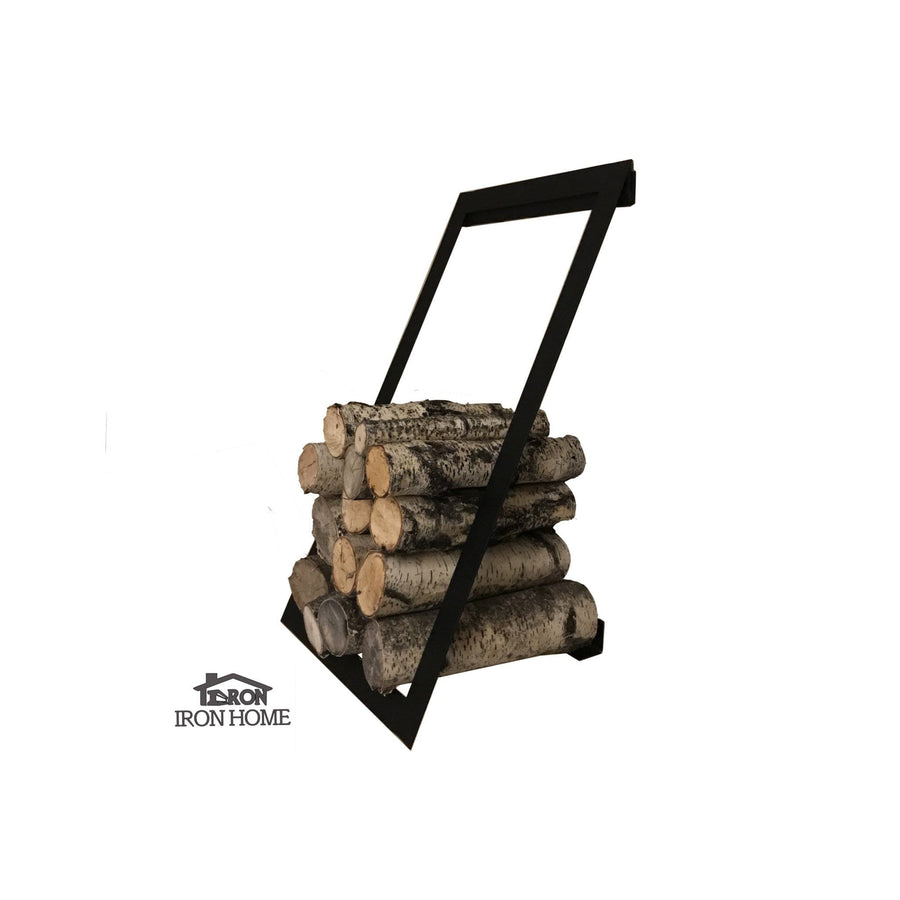 Iron Floating Log Rack