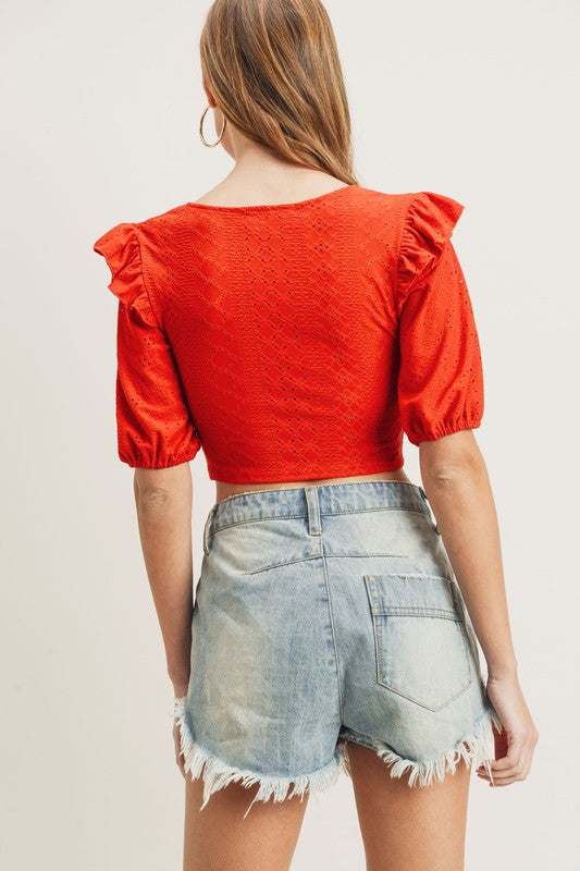Evelyn Crop Top