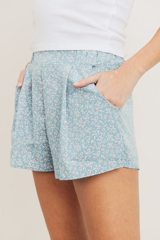 Chloe Flower Shorts