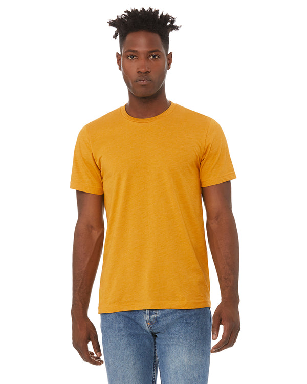 Explore More Tee - Heather Mustard