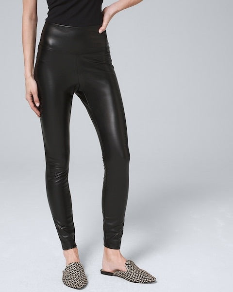 Valentina Faux Leather Leggings