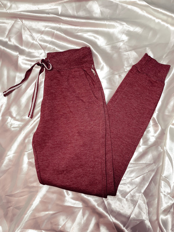 Lucy Jogger Sweatpants - Dusty Rose