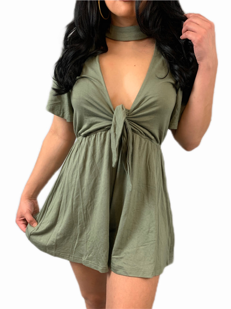 Olivia Romper - Mimosas With Maria Boutique