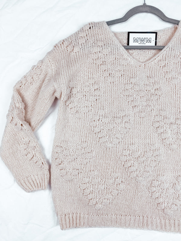 Amanda Chunky Sweater - White