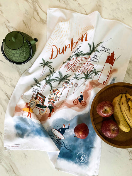 DURBAN TEA TOWEL