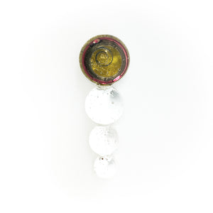 CKT-SS-002 | Four Sphere Brooch | Clock spring