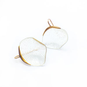 Orotrasparente | Flower earrings