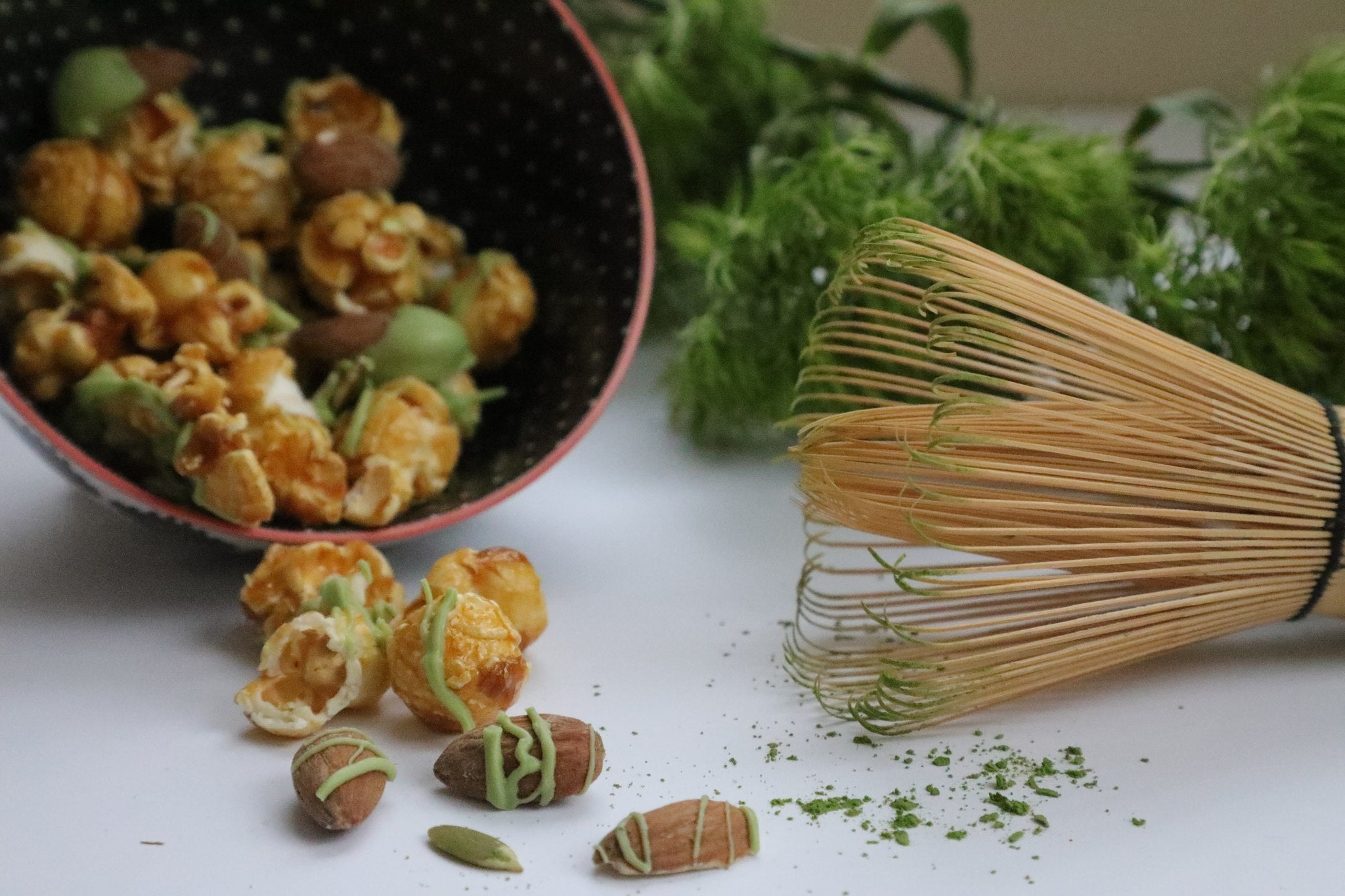 Matcha Maple Protein Popcorn Packs