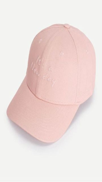 Embroidered Letter  Cap