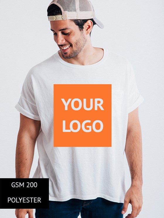 100% POLYESTER T SHIRTS 200 GSM