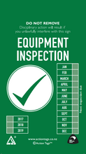 Load image into Gallery viewer, Equipment Inspection Tags (Pack of 20)