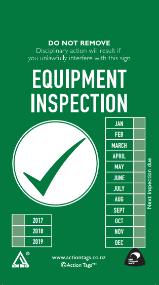 Equipment Inspection Tags (Pack of 20)