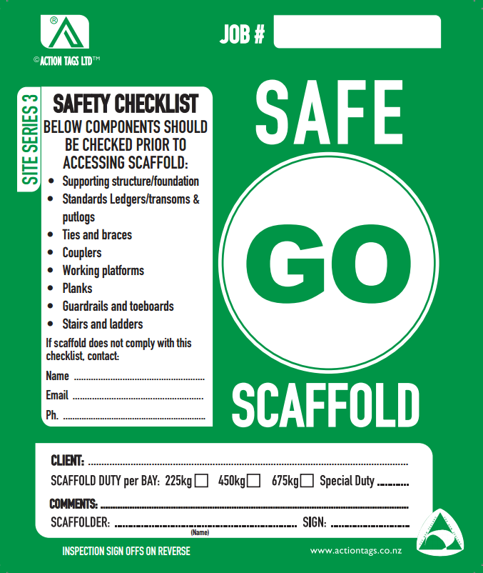 Go Safe Scaffold (50 pack)