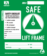 Load image into Gallery viewer, Safe Lift Frame (Pack of 25)