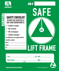 Safe Lift Frame (Pack of 25)