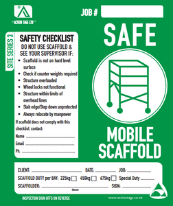Safe Mobile Scaffold (Pack of 25)